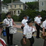 Pawcutuck, CT Memorial Day-- Franklin sets the beat
