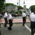 Marching down Rt 1, Pawcatuck, CT Memorial Day