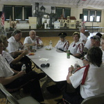 Lunch at Armory between parades memorial Day 2015