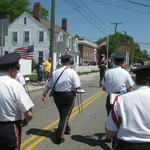 Marching down Rt 1, Mystic , CT