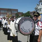 Mount Carmel Procession bass drum