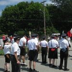 Ceremony at the circle in the NOrth End Westerly