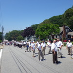long procession for Mount Carmel