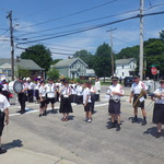 Ceremony at Calabrese Club, Mount Carmel Procession