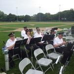 cimmalore Field concert getting ready