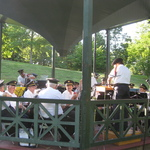 Wilcox band concert July 2015
