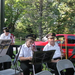 inside the bandstand Wilcox Park Concert July 22 2015