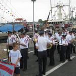 Stonington Harbor blessing of the fleet 2015