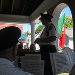 Afternoon concert at Holy Ghost Society Gazebo