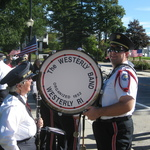 End of Parade at Wilcox Park near Westerly Town Hall