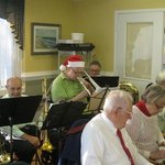 Caroling at Westerly Health Center