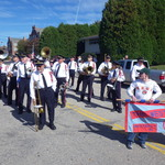 Ward street lining up for Columbus Day Parade