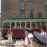Westerly Downtown Trolley Inauguration 2011