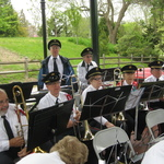 Trombones and percussion