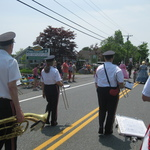 Charlestown Parade Marching on Route 1A