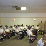Westerly Band at Pawcatuck VFW for Memorial Day ceremony
