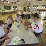 Memorial Day Lunch at ARmory between Parades