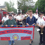 Alison Patton and band ready for Mystic parade
