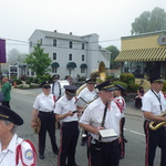 Marching on Route 1 Mystic, CT
