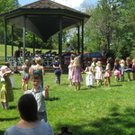 Children joining in the fun at Children's Concert