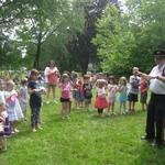 children's concert~~Alison Paton teaching children to conduct
