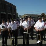 Fireman's Parade beginning on Union St Westerly