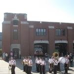 Fireman's Parade Alison leading band