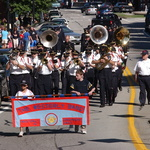 Fireman's Parade downtown Westerly
