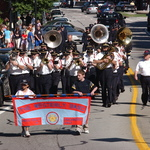 Fireman's Parade--Westerly in front of Town Hall
