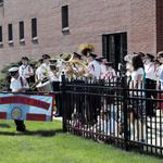 Ceremony for Fireman Fireman's Parade 2015