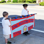 Fireman's Parade 2013 banner carriers