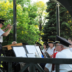 Wilcox Park Concert Alison condusts