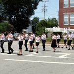 marching onto Narragansett Ave