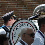 Procession Forming with Westerly Band