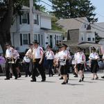 MOunt Carmel Procession on Narragansett Ave