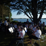 Tuning for Shelter Harbor concert