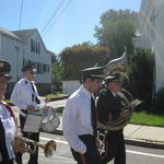 Marching down Granite Street
