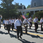 Marching up High Street Columbus Day 2016