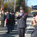 Bill playing Taps for Veteran's Day Service