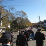 Marching down Rt 1, Pawcatuck