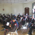 Westerly band at Westerly Armory Veteran's Day