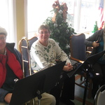 Brass section at the Watch Hill rehab