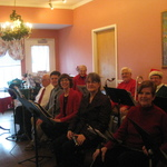 Wide view of band at the Clipper Nursing Home (Apple Rehab)