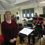 Our conductor Alison Patton