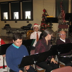 Even Mrs Claus plays the clarinet!