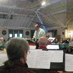 Assist.conductor John Bruno conducts