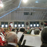 Santa dances to