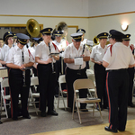 Pawcatuck VFW ceremony --directions from our conductor Alison