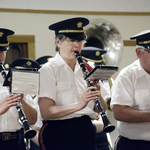 Pawcatuck VFW-- clarinets play Armed Forces on Parade