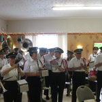 Mystic VFW waiting for ceremony